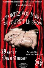 Spectacle 2016 - Apportez vos mains on fournit le show!