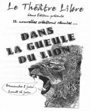 Spectacle 2003 - Dans la gueule du lion